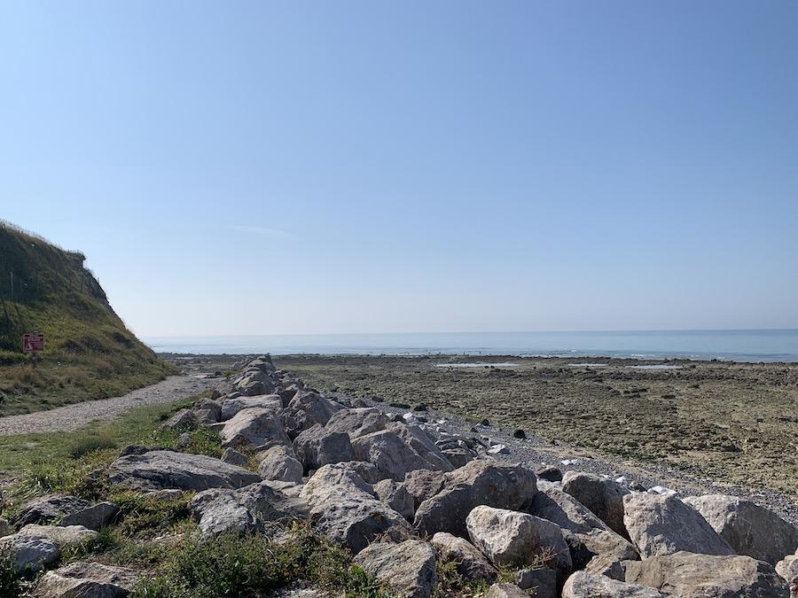 Haute Normandie Criel-sur-Mer Ebbe