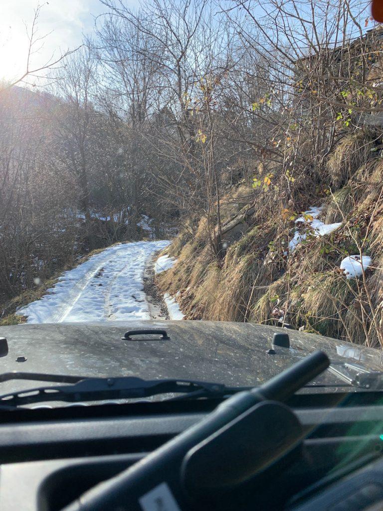 Jetzt kommt noch Offroad auf Schnee und Eis hinzu