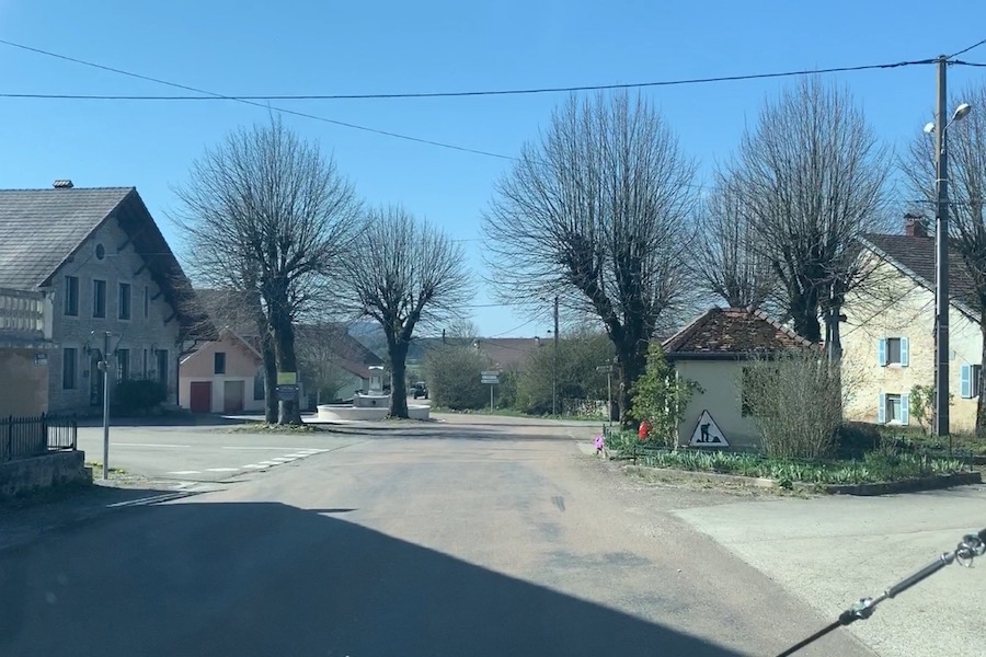 Besain, a small village in Burgundy.