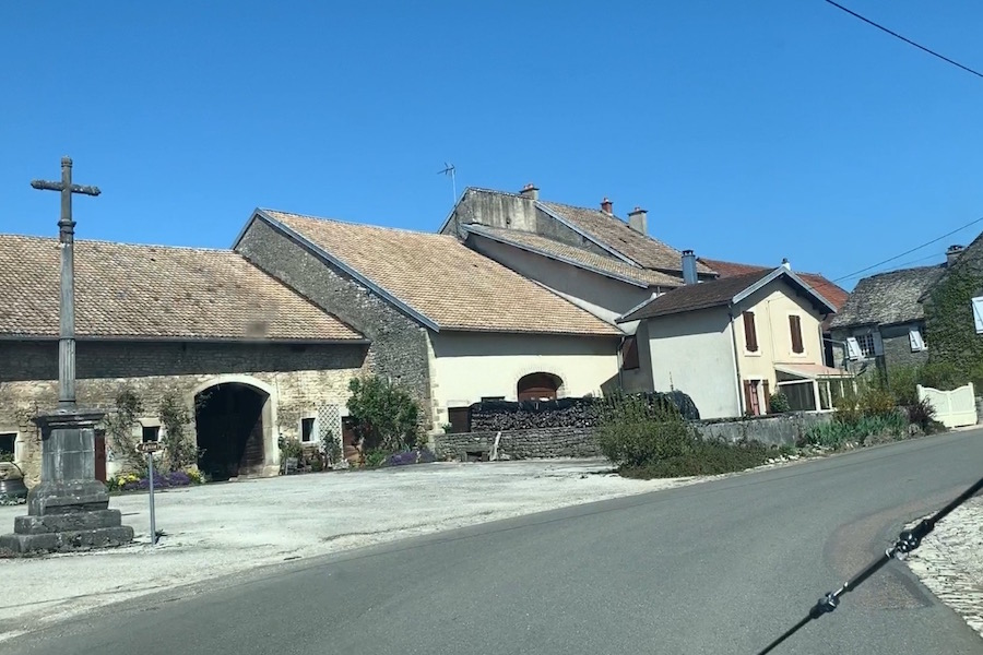 Picarreau, village in Burgundy.