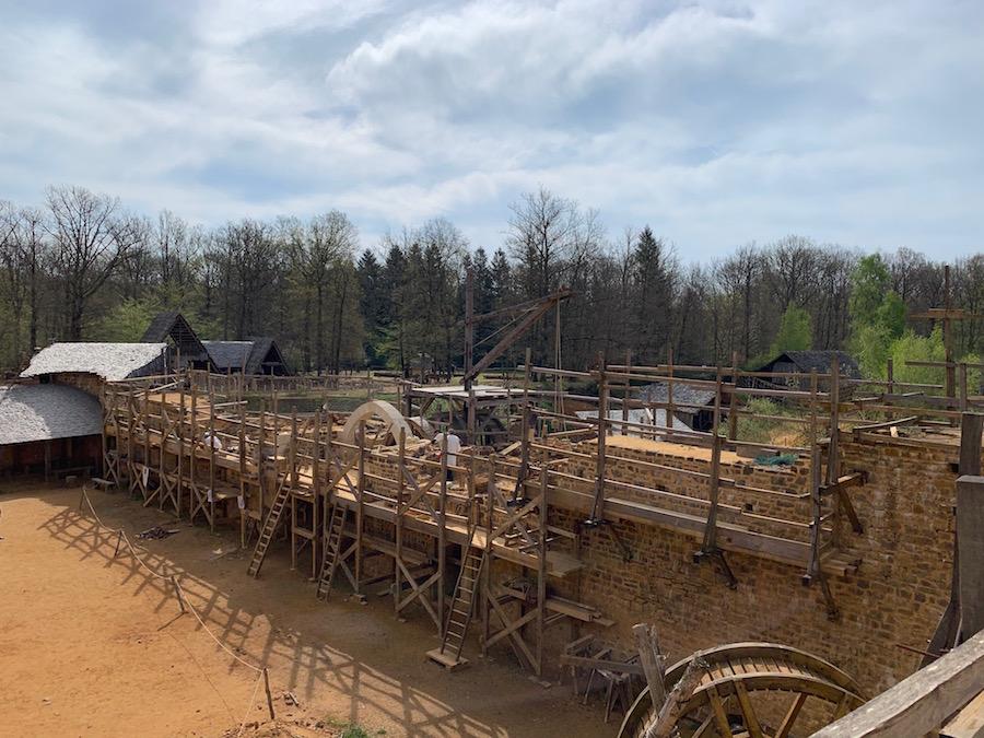 Chateau Guédelon Construction Site
