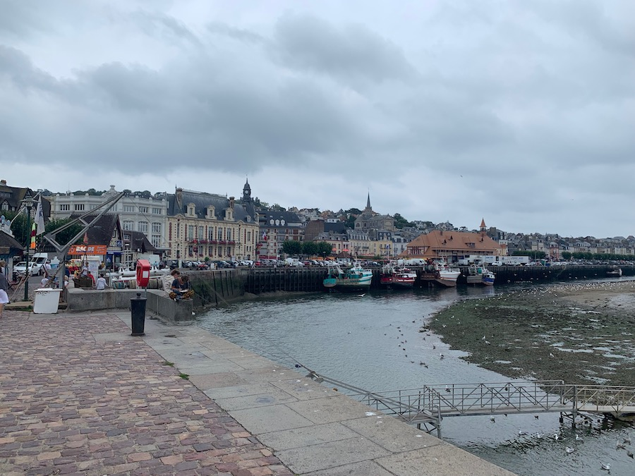 Trouville-sur-Mer at low tide