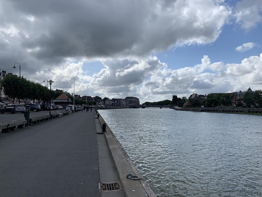 Trouville-sur-Mer bei Flut