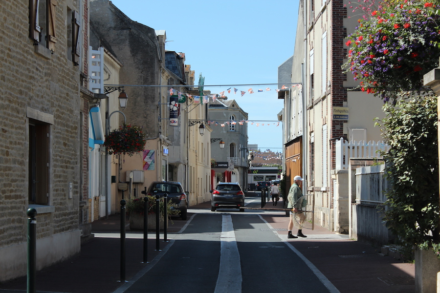 Saint-Aubin-sur-Mer, a picturesque village at Sword Beach