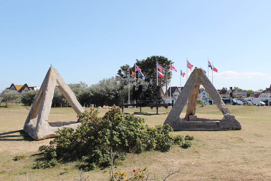 Juno Beach Park in Courseulles-sur-Mer