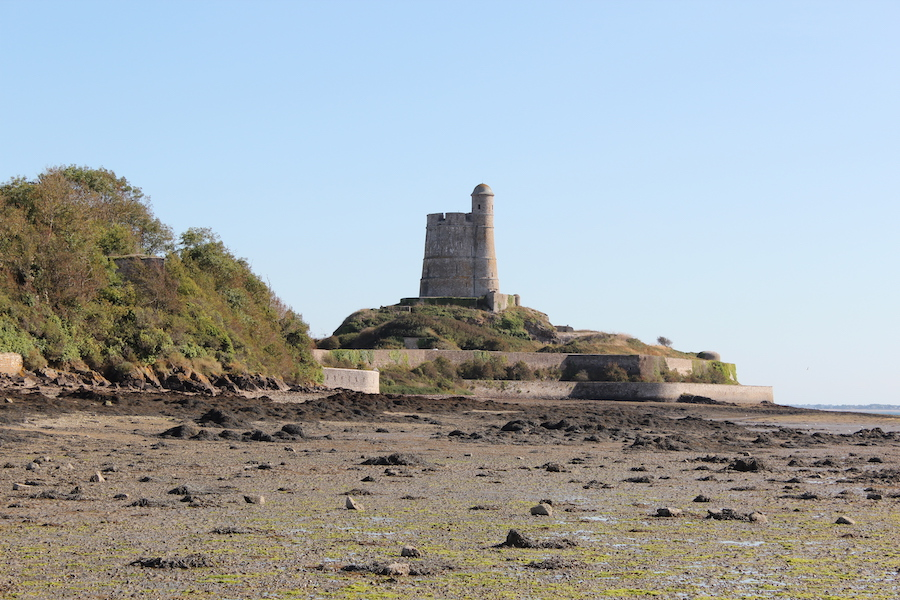 Tour Vauban de la Hougue near Saint-Vaast-la-Hougue