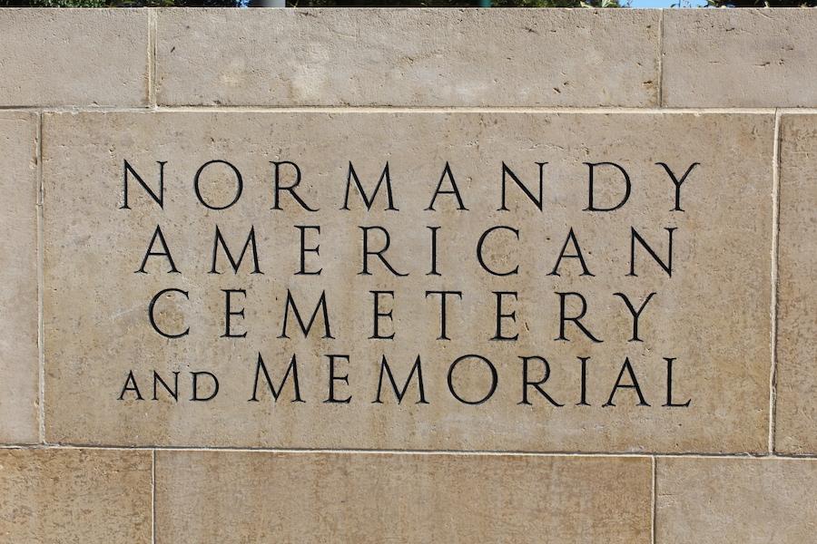Amerikanischer Soldatenfriedhof und Gedenkstätte der Normandie
