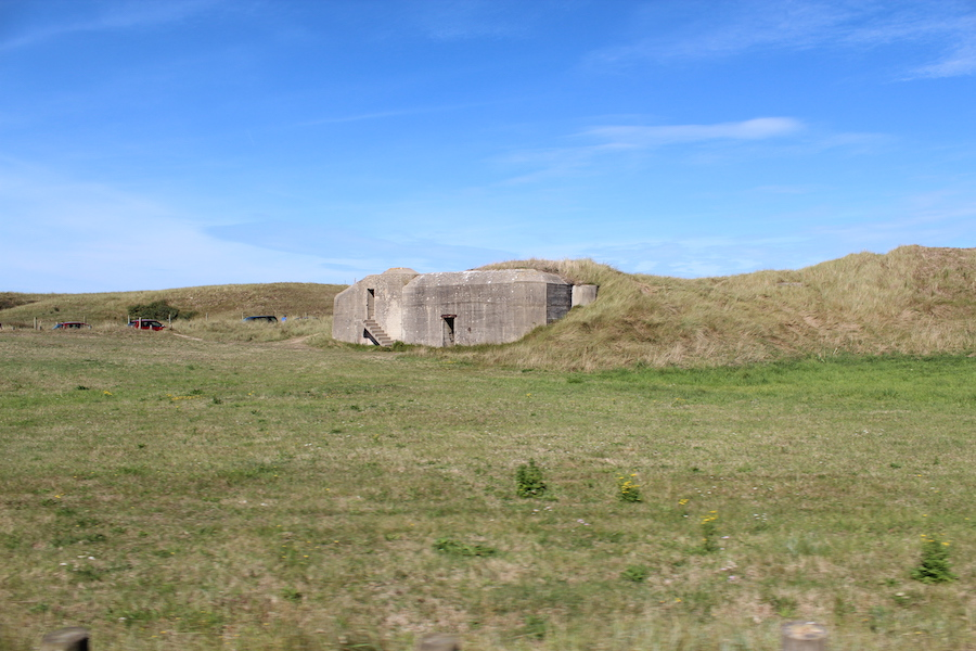Bunker in Saint-Martin-de-Varreville, Utah Beach