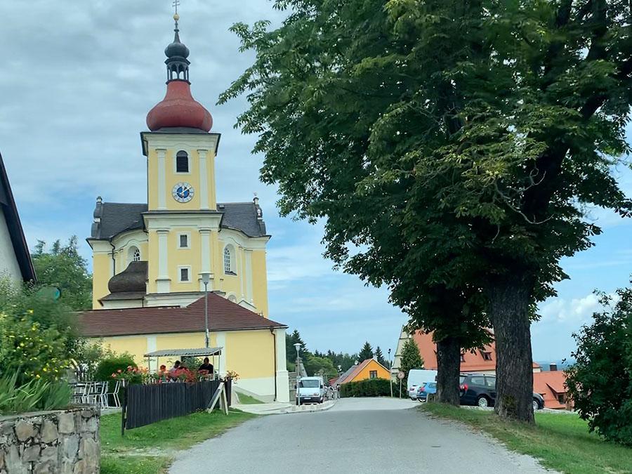 Pilgrimage Church of Our Lady Comforter in Dobrá Voda