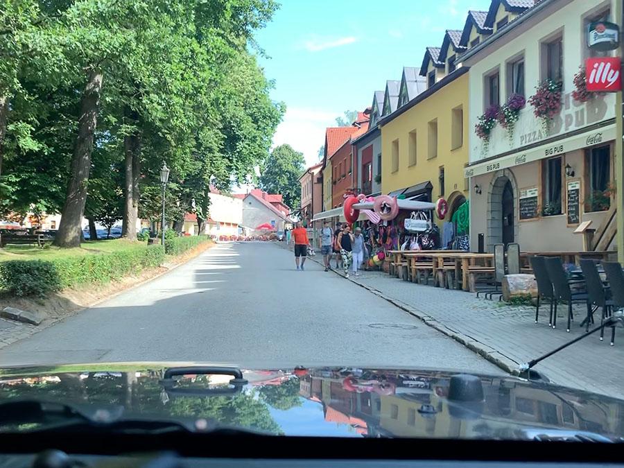 Little town of Frymburk