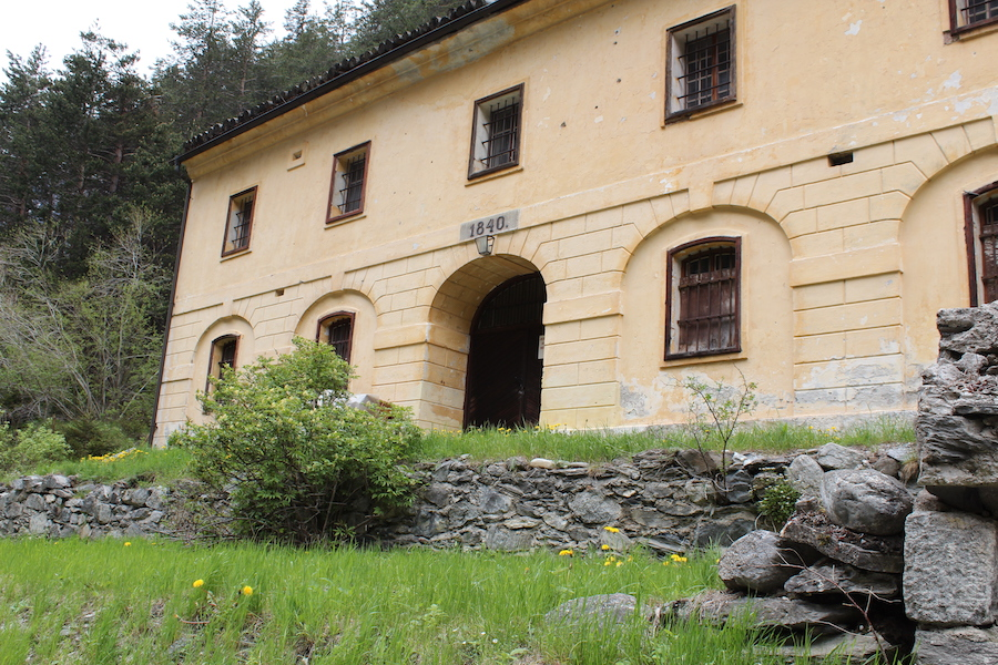Military barrack, built in 1840