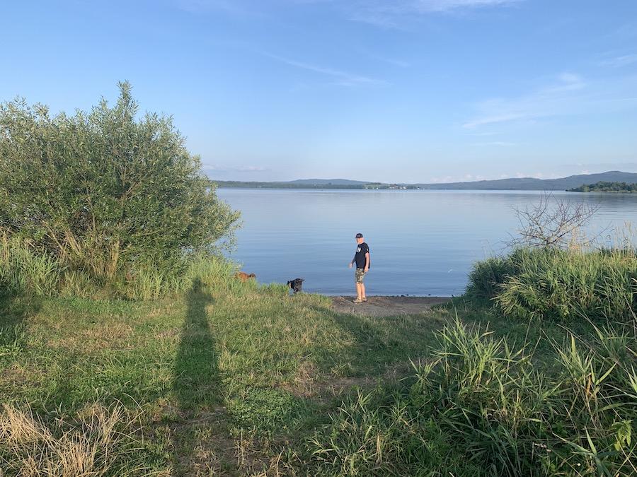 Lipno Reservoir, Overlanding Southern Bohemia - Czech Republic
