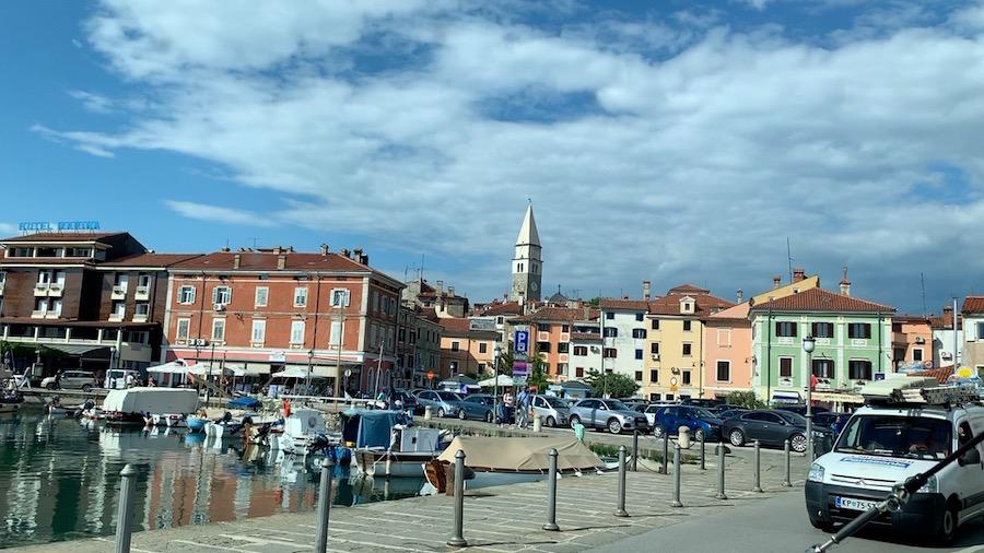 Port town Izola in Slovenia