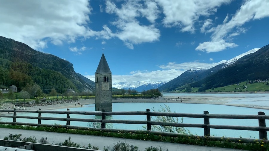 Church Tower in the Lake of Reschen