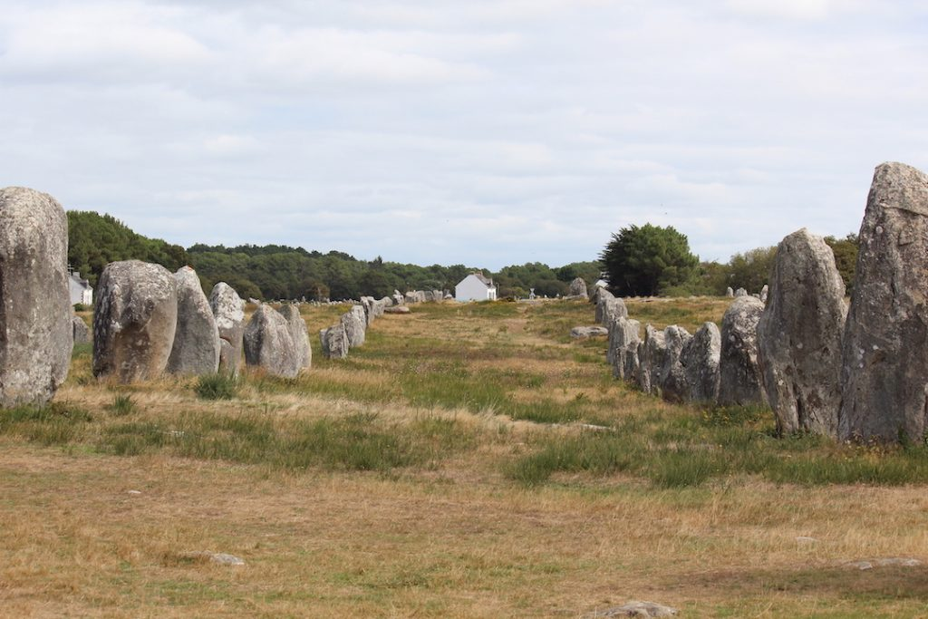Dolmens and menhirs of Brittany: Alignments of Carnac