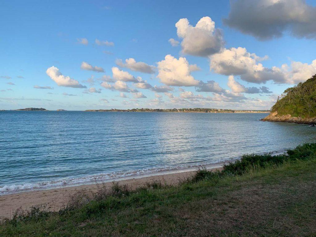 Bucht gleich beim Campingplatz Saint-Cast-le-Guildo