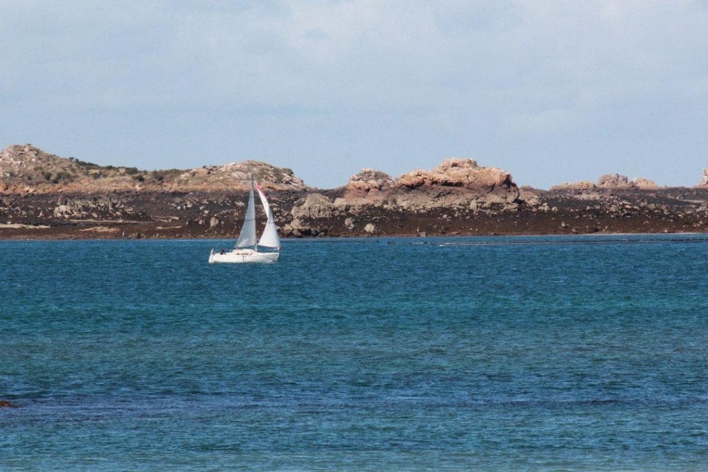Segelboot bei Ploubazlanec