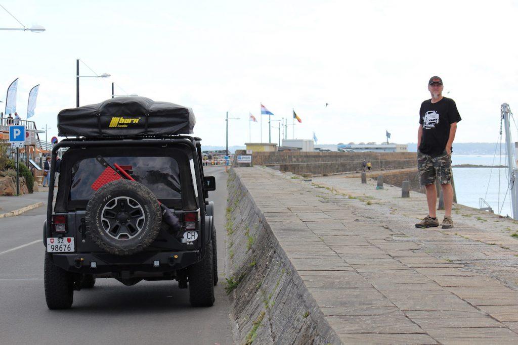 Short break in the harbor of Saint-Quay-Portrieux